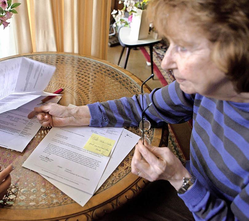 Wenn der Amtsgang oder Vertragsabschlü...st eine rechtliche Betreuung möglich.   | Foto: picture alliance/dpa