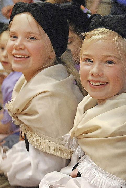 Bei der Feier der Grundschüler <ppp></ppp>  | Foto: Angelika Schmidt