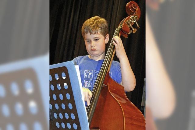 Jungmusiker zeigen gelungene Generalprobe