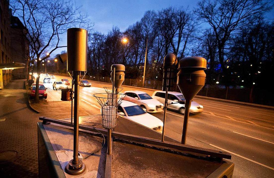 Stuttgart hat miese Feinstaubwerte.  | Foto: dpa