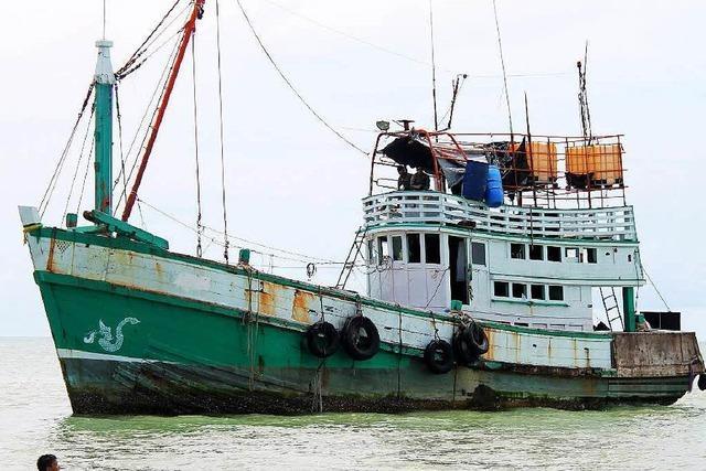 Bootsflüchtlinge in Asien: 8000 Menschen in Gefahr