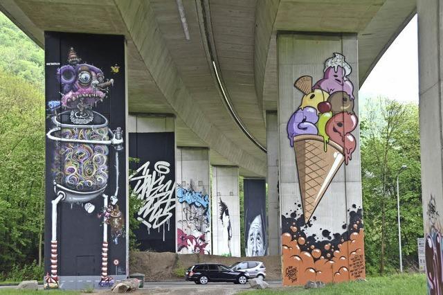 Graffiti-Open-Air-Walk in Lörrach