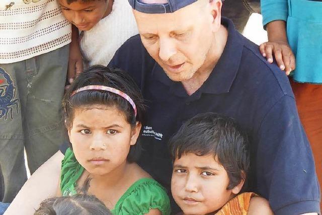 Wie ein Schopfheimer in Nepal traumatisierten Kindern hilft