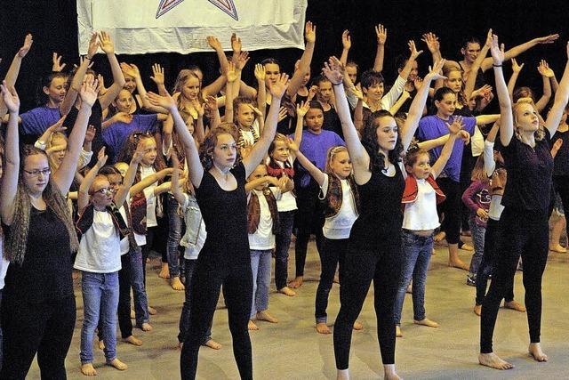 Tanzspektakel vor 350 Zuschauern