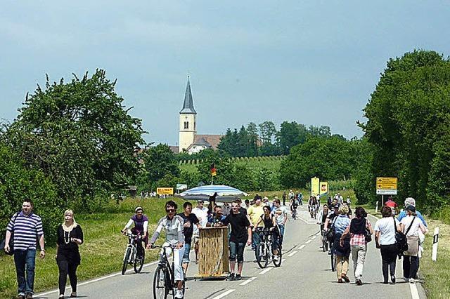 Gutedeltag zwischen Staufen und Müllheim
