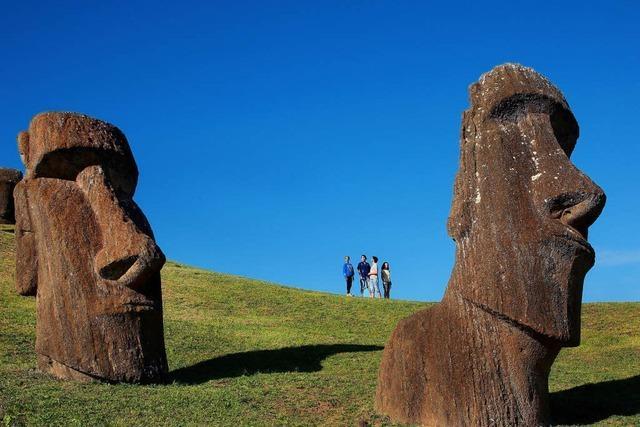 Steinfiguren auf der Osterinsel faszinieren die Menschen seit jeher