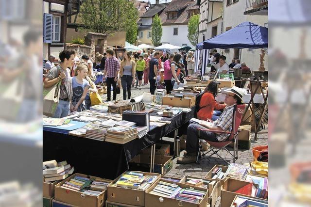 Büchermarkt in Endingen