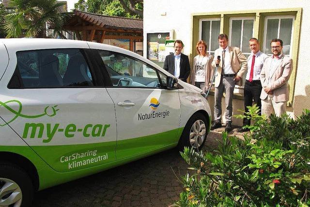 Ein Elektroauto für Kurgäste und Einheimische