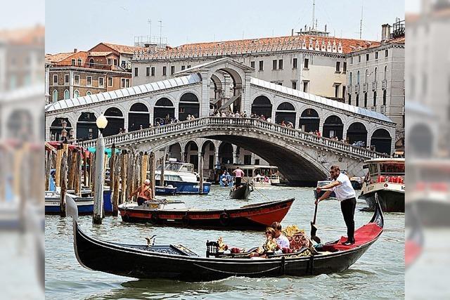 Nach einem tödlichem Unfall herrschen in Venedigs Kanälen neue Regeln