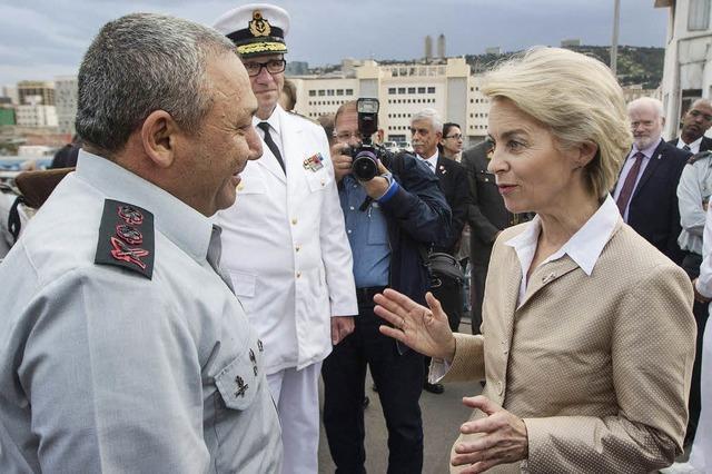 Verteidigungsministerin von der Leyen in Israel: Schweres Gepäck