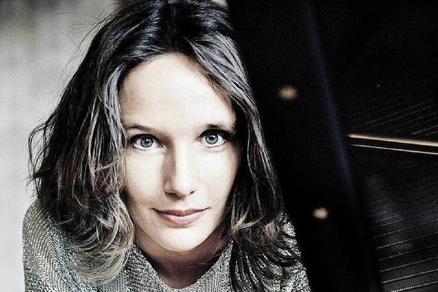 Die Pianistin Hélène Grimaud beim Freiburger Albert-Konzert