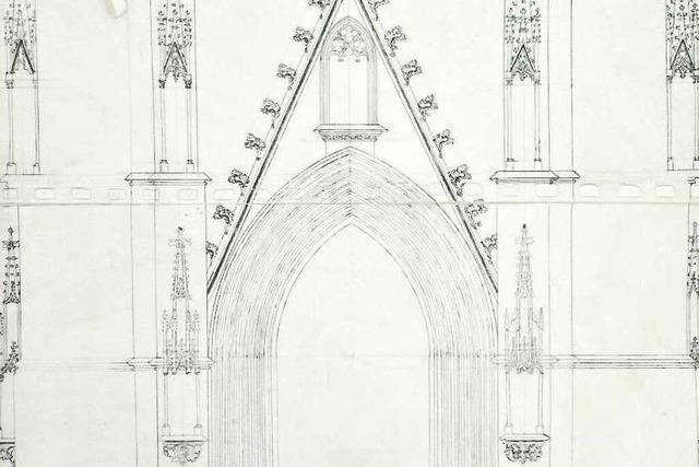 Erwin von Steinbach entwarf den Münsterturm