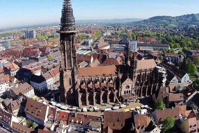 Fotos: Das Freiburger Münster aus Sicht einer Foto-Drohne