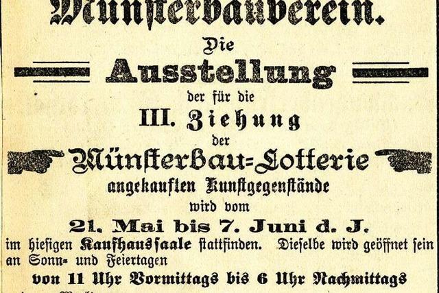 Lotterien brachten Geld für die Münster-Restaurierung