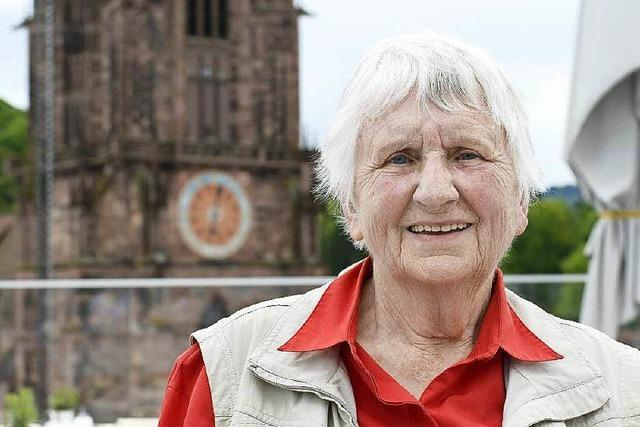 Elisabeth van Scharrel ist stille Spenderin für das Münster