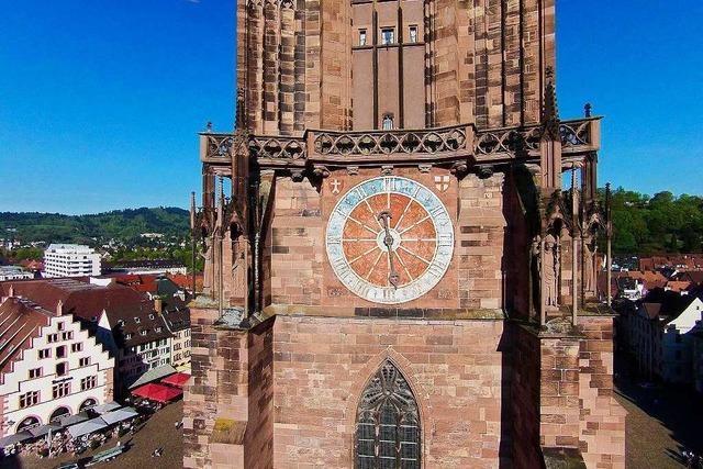 Die Münsteruhr trotzt dem Zeitgeist