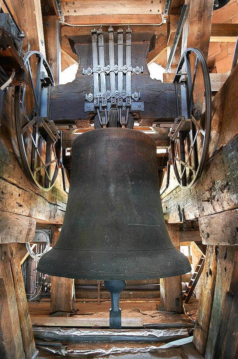 Die Hosanna-Glocke im Freiburger Münster    Foto: Thomas Kunz