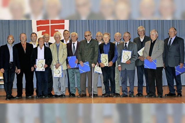 Turnverein ehrt längjährige Mitglieder
