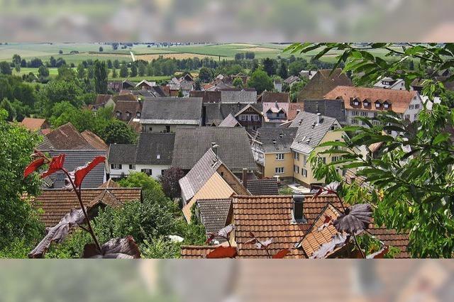 Zum Schutz des Dorfbildes