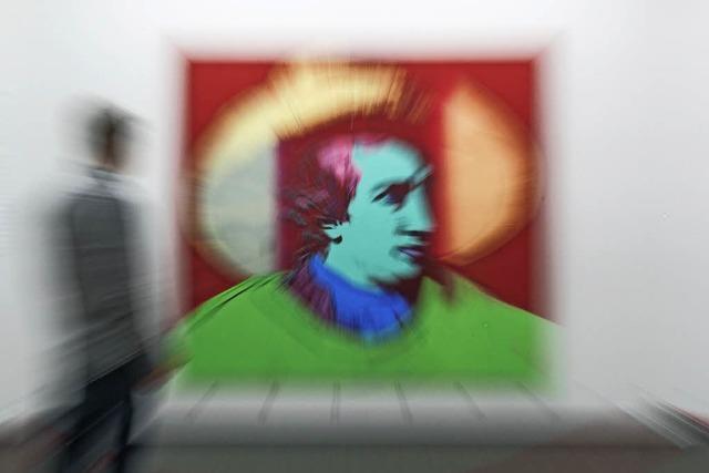 Warhol in der Kunsthalle Messmer in Riegel