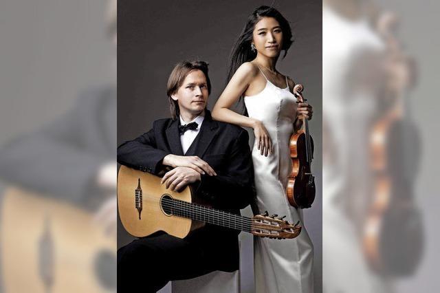 Duo Alouette spielt in der Johanneskirche
