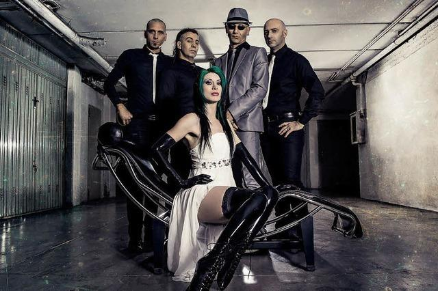 The P.O.X. aka The Psychobilly Orchestra X. in Auggen