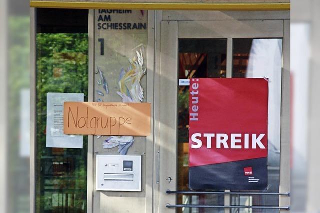 Heimplatz für Kinder in Streikzeiten