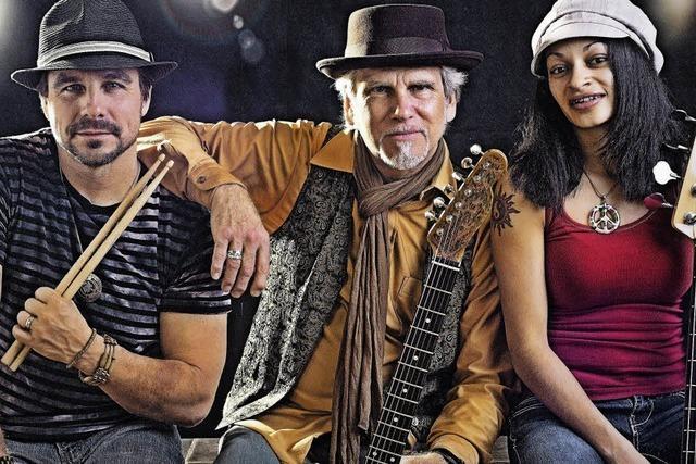 Die Todd Wolfe Band gibt ein Konzert in Offenburg