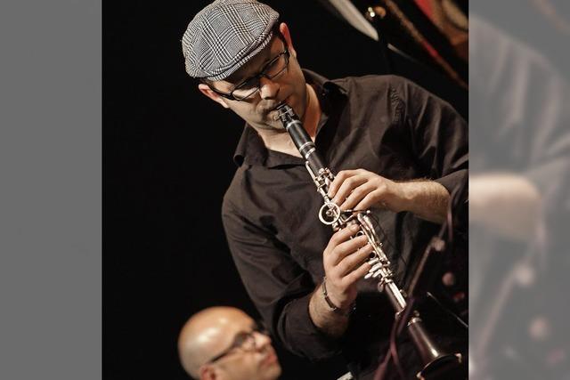 Roman Kuperschmidt und die Band Frankfurt in der Stadthalle Wehr