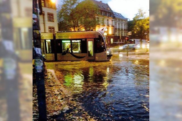 Diese Schäden hat das Hagelunwetter in Freiburg angerichtet