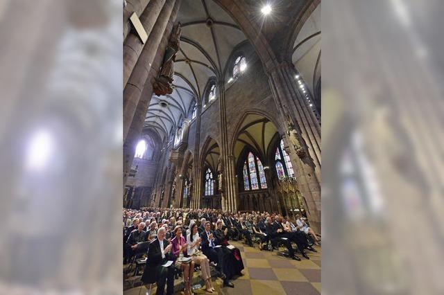 Festakt im Münster