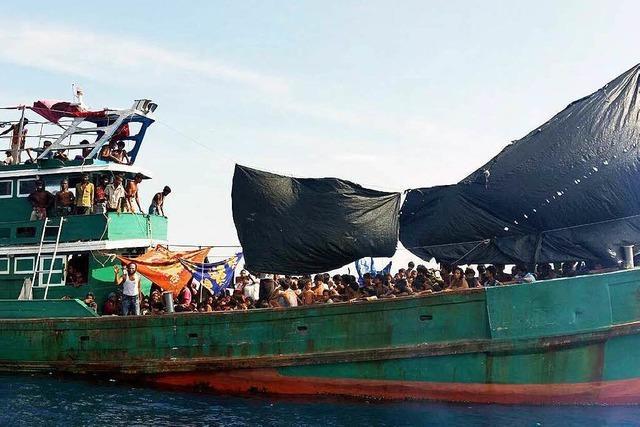 Malaysia weist mehr als 800 Flüchtlinge ab