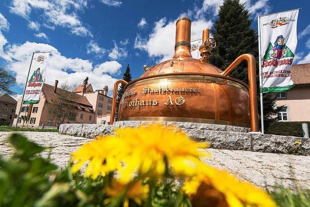 Brauerei Rothaus investiert Millionen ins Energiesparen