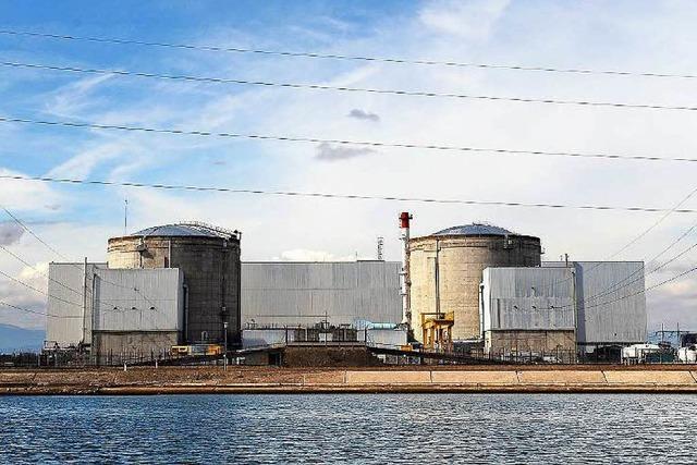 Kühlwasser erhitzt Gemüter beim Atomkraftwerk Fessenheim