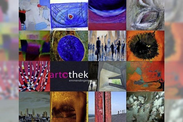 Artothek: Kunstfest mit Ausleihe in der Emmendinger Steinhalle