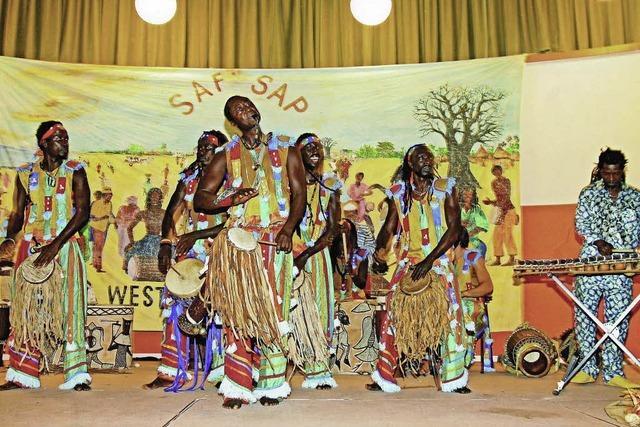 Afrika-Tag im Lörracher Nellie Nashorn