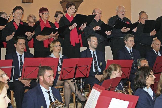 Vier Ensemble aus Gutach in einem abwechslungsreichen Konzert vereint