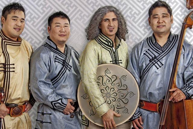 Mongolische Musik im Spitalkeller in Offenburg