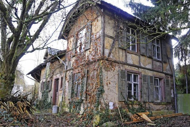Ein Kutscherhaus ohne Zuweg