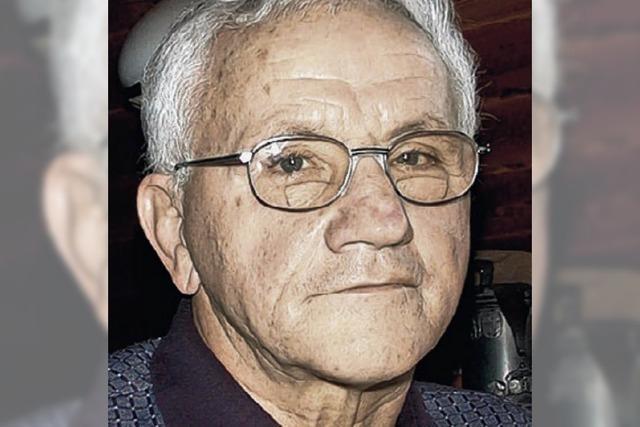 Trauer um Heinz Georg: Urgestein des Ringsports