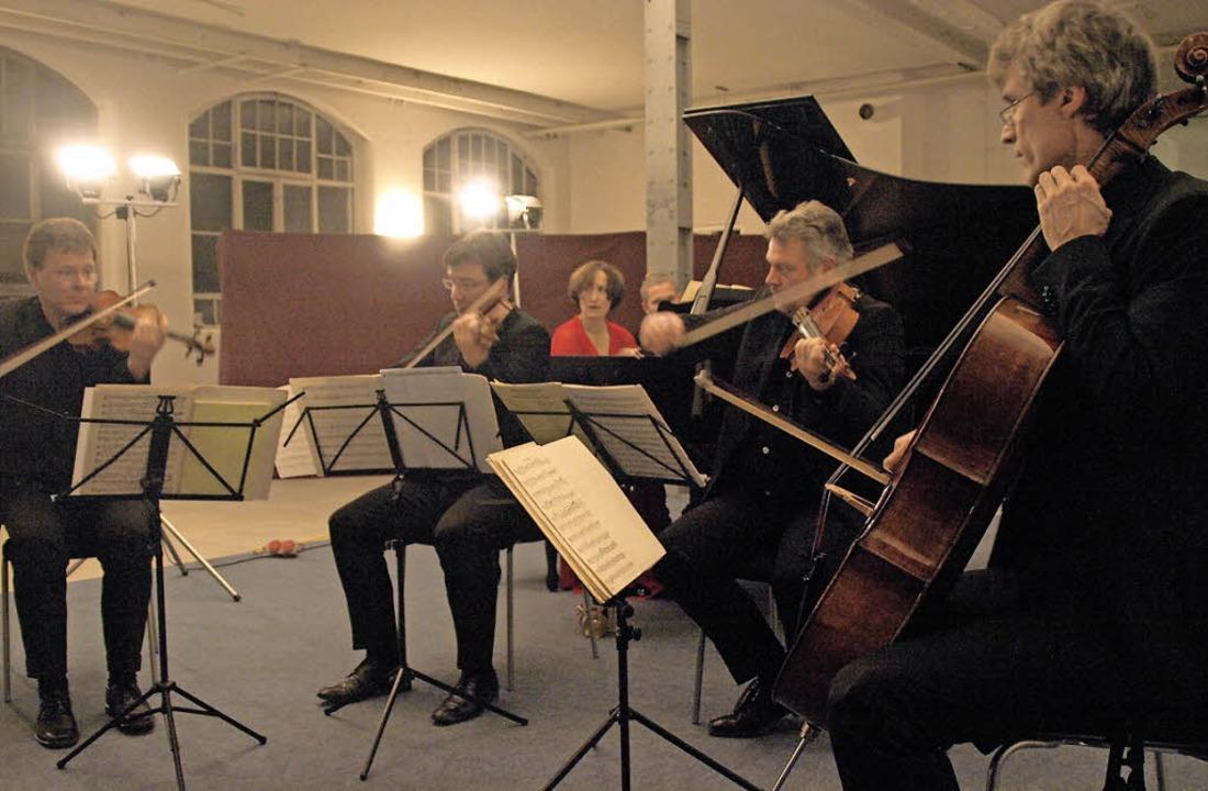 Kammermusik in einem Konzertsaal mit W... Vogler-Quartetts im vergangenen Jahr.  | Foto: Karin Steinebrunner/ Martina David-Wenk