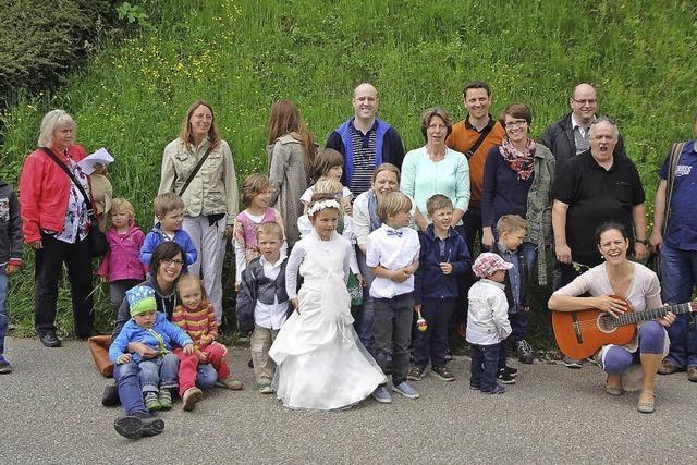Eine Braut von fünf Jahren