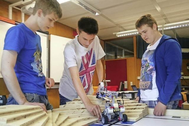 Roboter sortieren Lego-Steine