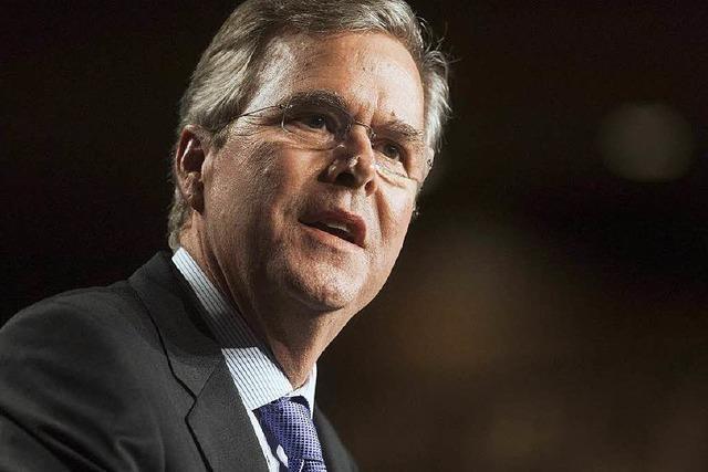 Jeb Bush mag den Irakkrieg seines Bruders nicht mehr