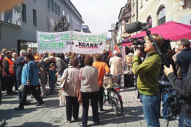 Demo fürs Spital