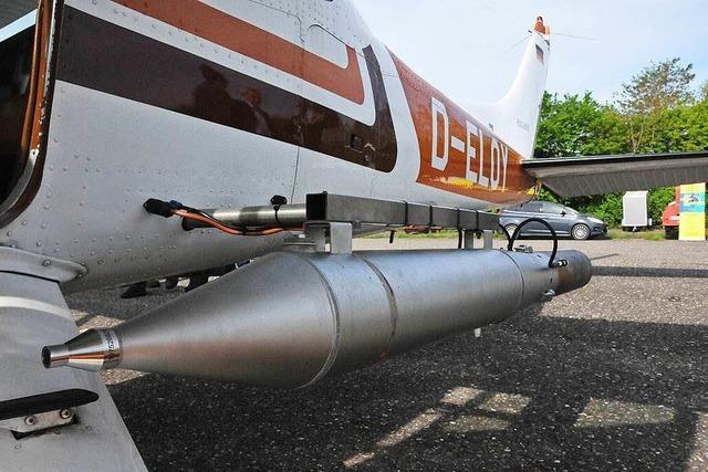 Unwetterprävention: Hagelflieger in der Ortenau erstmals im Einsatz