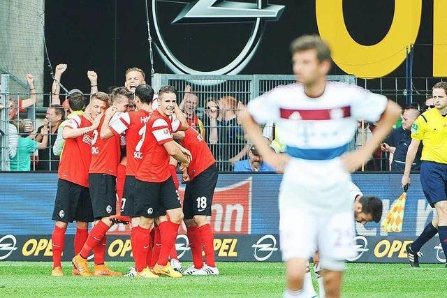 Sensation im Abstiegskampf: Der SC Freiburg gewinnt mit 2:1 gegen Bayern München