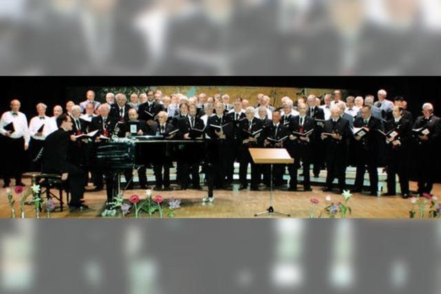 Sänger mit neuem Chorerlebnis