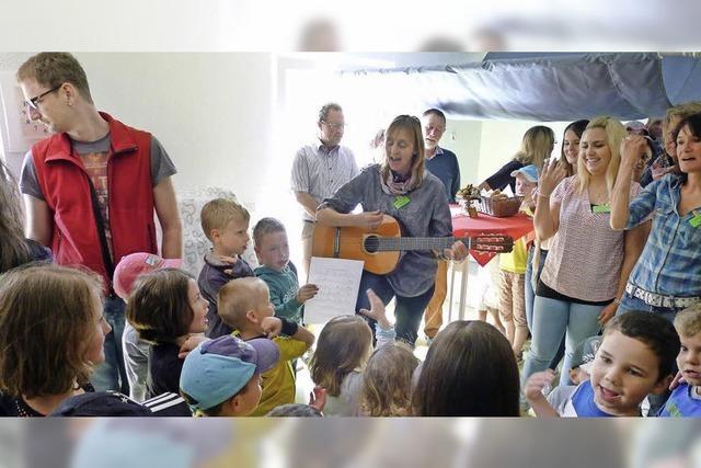 Neue Räume für 15 Kleinkinder