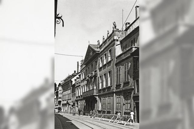 Kompromiss: Der Wiederaufbau des Palais Sickingen in der Salzstraße